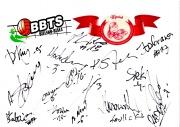 Autografy od drużyny BBTS Bielsko Biała, min. M. Sacharewicz, K. Kwasowski, S. Kapelus, M. Wika, B. Janeczek oraz trenerzy K. Stelmach i A. Stelmach