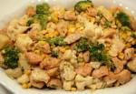 Sałatka brokułowa z kalafiorem