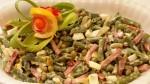 Sałatka z fasoli szparagowej